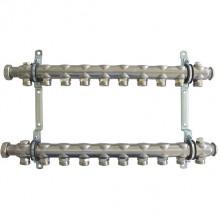 Гребенка Oventrop Multidis SH для радиаторного отопления на 10 контуров